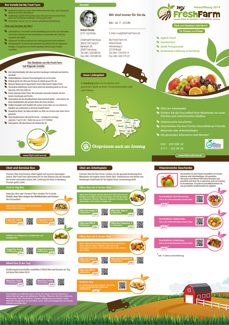 brochure design preview